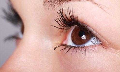 Olhos de uma mulher