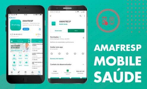 Acesse o guia rápido do aplicativo Amafresp